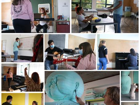 Centro de Formação Artística da Câmara Municipal da Madalena abriu com 186 inscritos