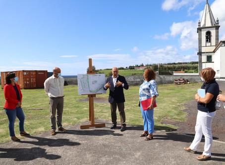 Município da Horta apresenta estudo prévio para a recuperação da Zona de Lazer da Feteira