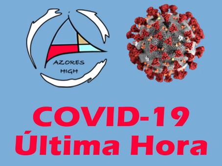 26/10- Dois casos positivos de COVID19 diagnosticados na ilha de São Miguel