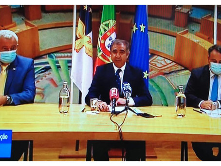 PSD, CDS e PPM anunciam acordo de governação