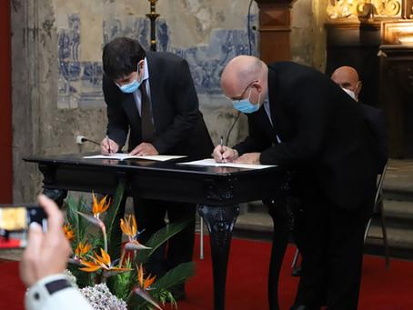 Foi assinado na cidade da Horta uma parceria entre a Ordem Terceira do Carmo e o Grupo Lux Mundi