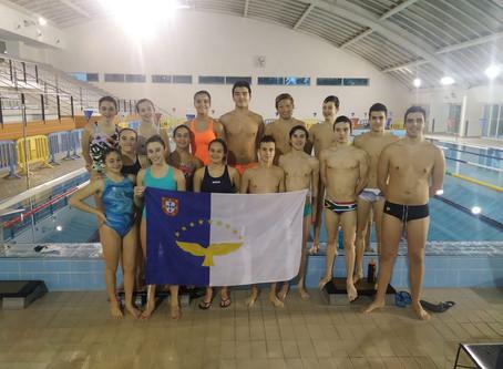 A nadadora Diana Neves do Clube Naval da Horta bate recorde regional que já tinha 12 anos