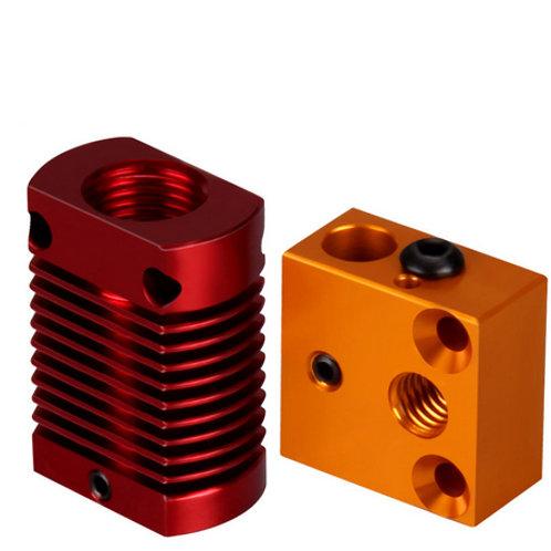Нагревательный блок и радиатор