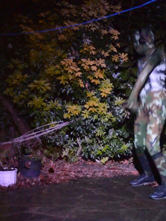 Camouflage dancer