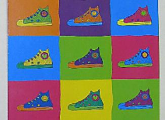 BJ529 Sneaker Clipboard