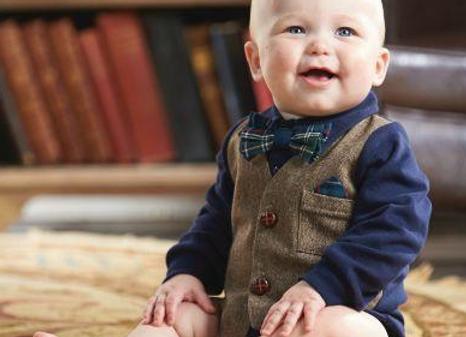 Tweed Vest Crawler