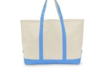 Blue Water Canvas Tote Bag