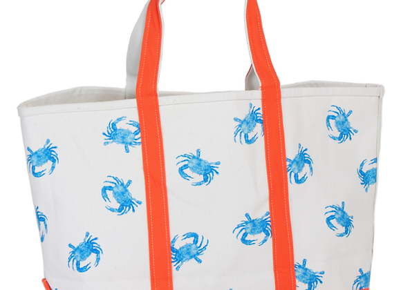 CRABBERRIE Blue Crab Tote