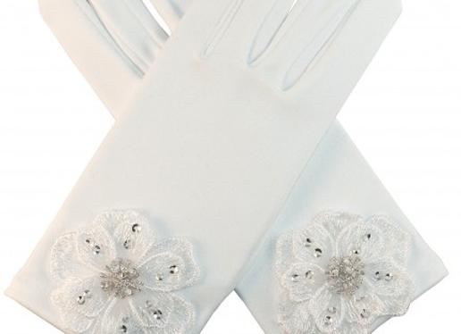 Andrea's Beau -Communion gloves(YASMINA)  IN STOCK