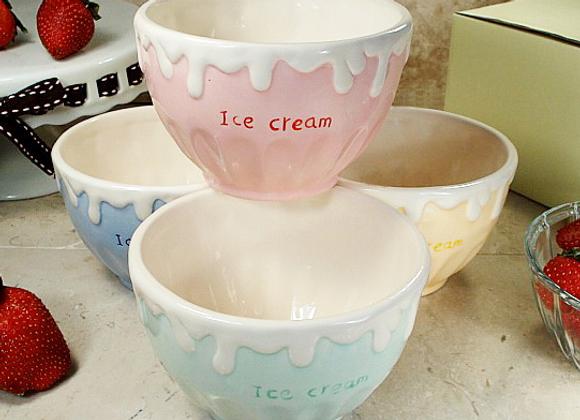 CC785-4   Ceramic Ice Cream Bowls (set of 4)