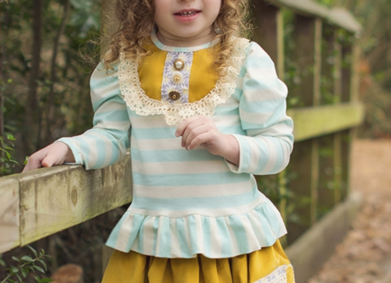 HAUTE BABY - Hannah Grace Skirt set