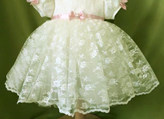 Princess Charlotte Dress (pink accent)