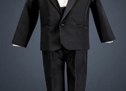 One button Tuxedo - Cummerbund & bowtie
