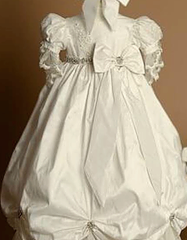 The Beauty of Heirloom Christening Gowns