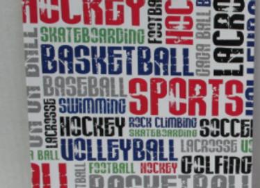 BJ457 Sport Grafitti Clipboard