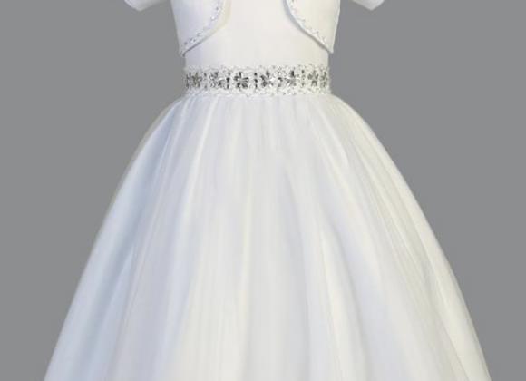 Satin Communion Dress SP998