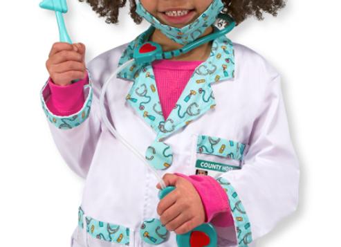 MELISSA & DOUG Doctor Dress Up 3-6yrs