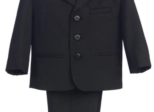 First Communion Suit - Black