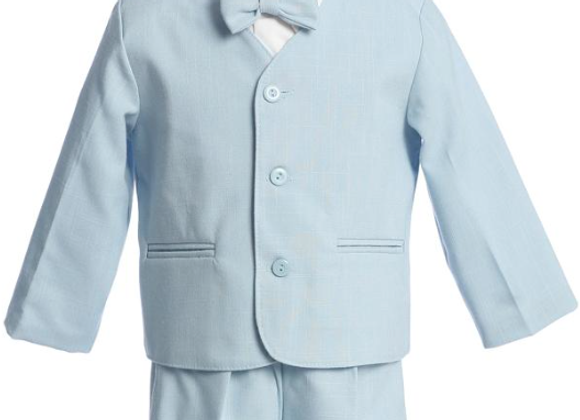 Eton & shorts - blue