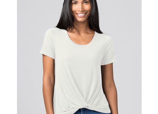 Twisted Top - White