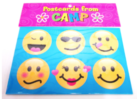 BJ683 Emoji Postcards