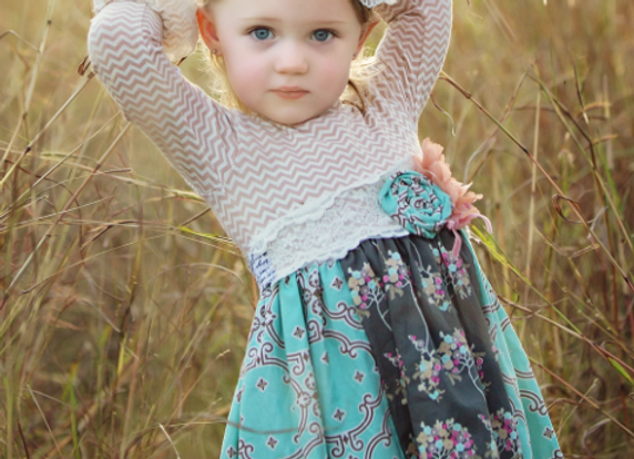 Haute Baby - Anna Louise Dress - in stock