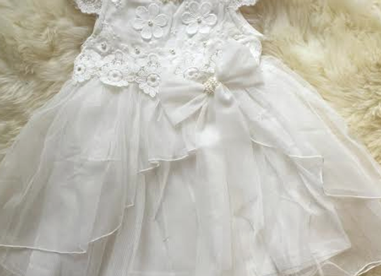 Lace & Pearls Dress - In stock