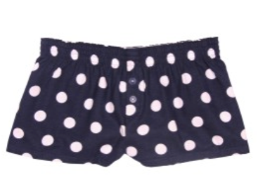 Navy Bitty Boxers