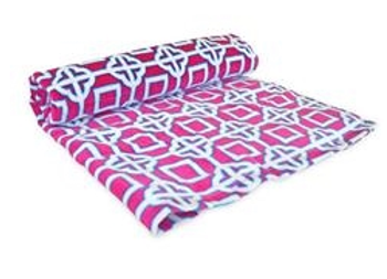 Pink Charmer Beach Towel