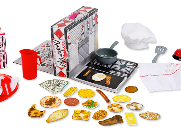 MELISSA & DOUG Order Up! Diner Play Set