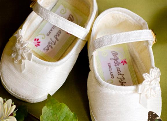 Angel bar shoes - ivory