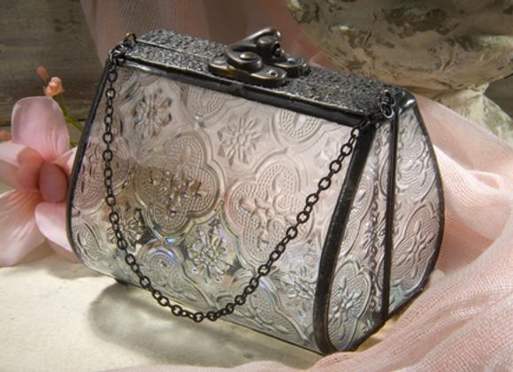 """Vintage Purse keepsake box-          4 1/4""""x3 1/4"""""""
