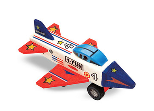 MELISSA & DOUG Decorate Your Own Jet Plane