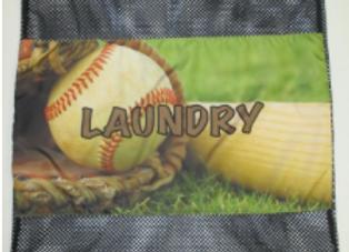 BJ623 Baseball Mitt Laundry Bag