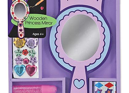 MELISSA & DOUG Decorate Your Own Princess Mirror