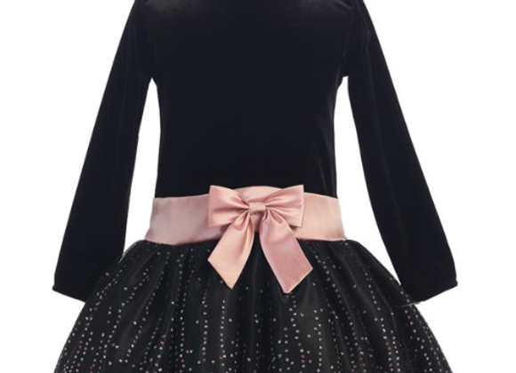 Black Sparkle Tulle Dress