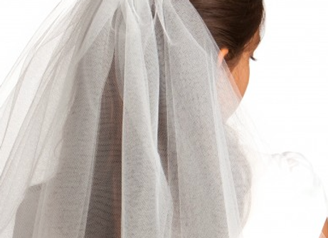 Andrea's Beau -Communion veil (JACKIE)    SOLD OUT