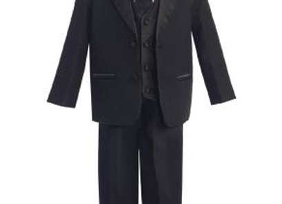 Two-button Tuxedo - Vest & Necktie