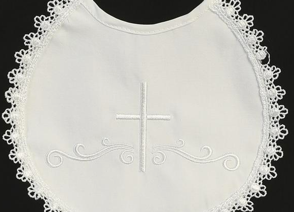 Christening Bib - Cotton
