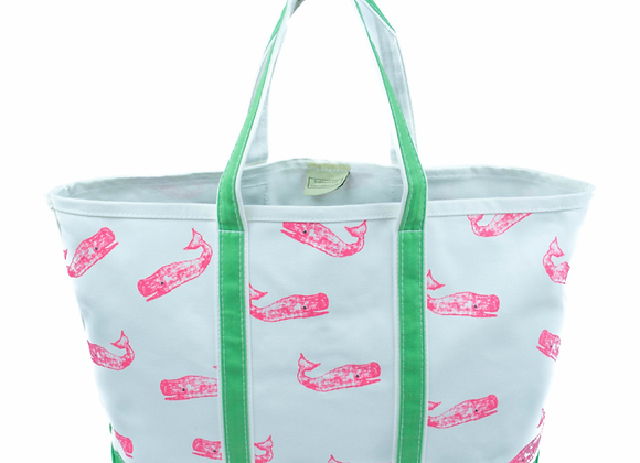 CRABBERRIE Whales Tote