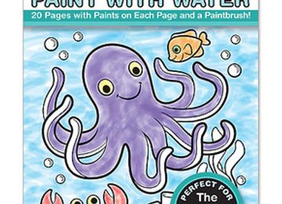 MELISSA & DOUG Ocean Paint Water Kids Art Pad