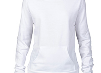 White Flashback Fleece Crew