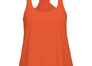 Orange Flare Tank