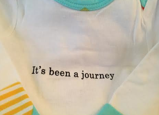 Its been a journey layette gown
