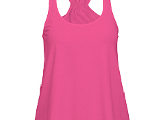 Fuchsia Flare Tank