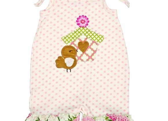 HAUTE BABY - May Flowers Baby Romper