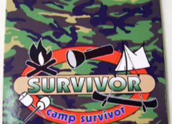BJ275 Camp Survivor Clipboard