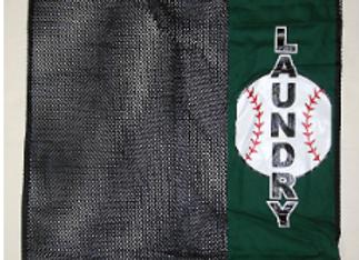 BJ505 Baseball Mesh Laundry Bag