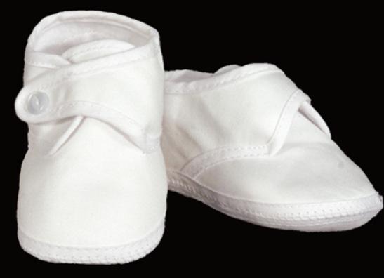 Boys Cotton Sateen Shoe