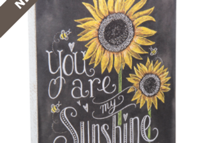 You are my sunshine chalk wooden sign